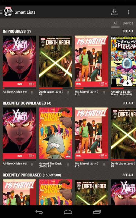 Marvel Comics The App Store