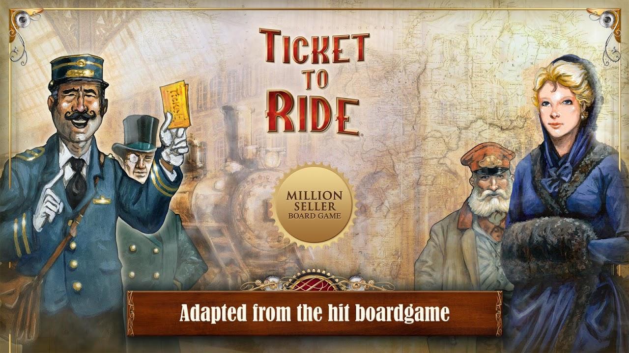 Screenshot Ticket to Ride APK