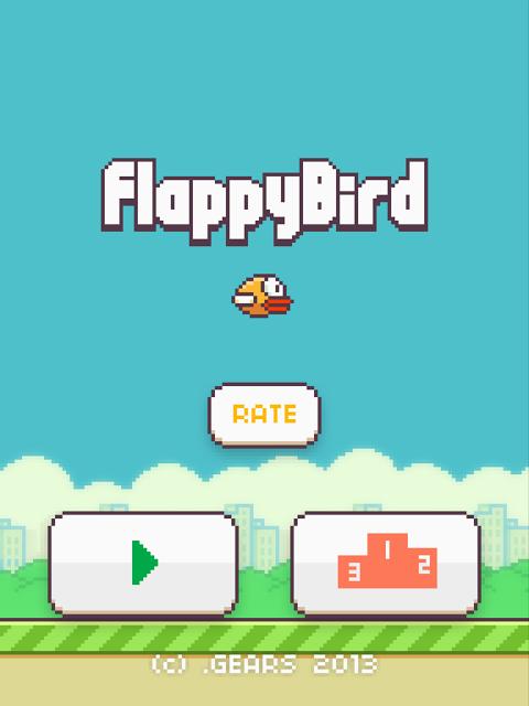Screenshot Flappy Bird APK