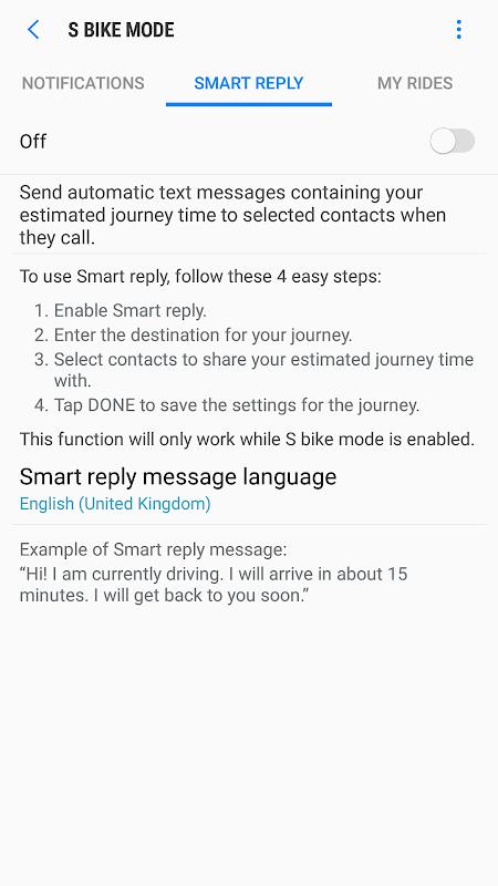 Screenshot S bike mode APK