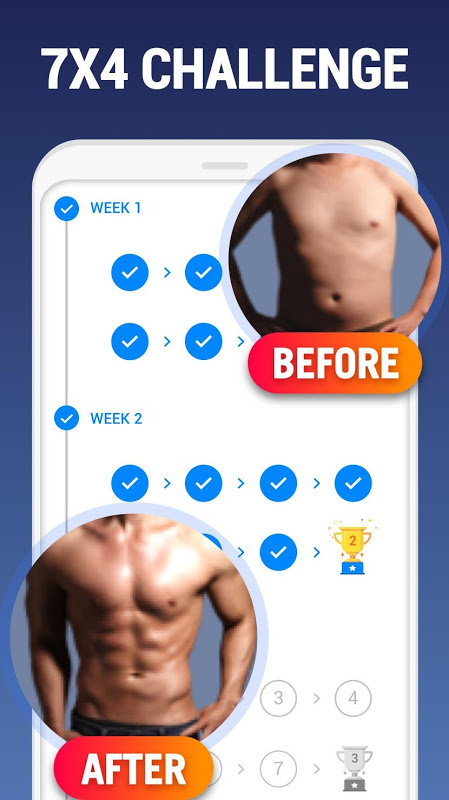 Screenshot Home Workout - No Equipment APK