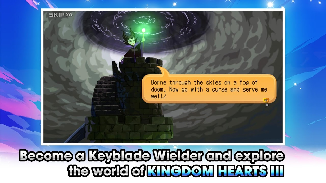 KINGDOM HEARTS Union χ[Cross] The App Store android Code Lads