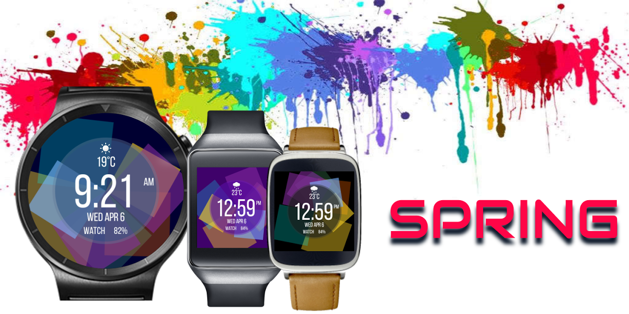 Spring Watch Face The App Store