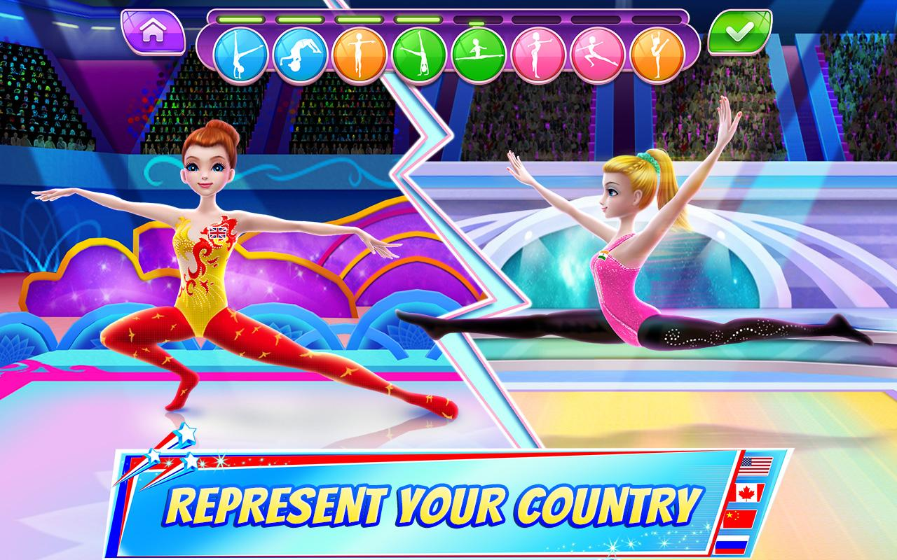 Gymnastics Superstar - Spin your way to gold! The App Store