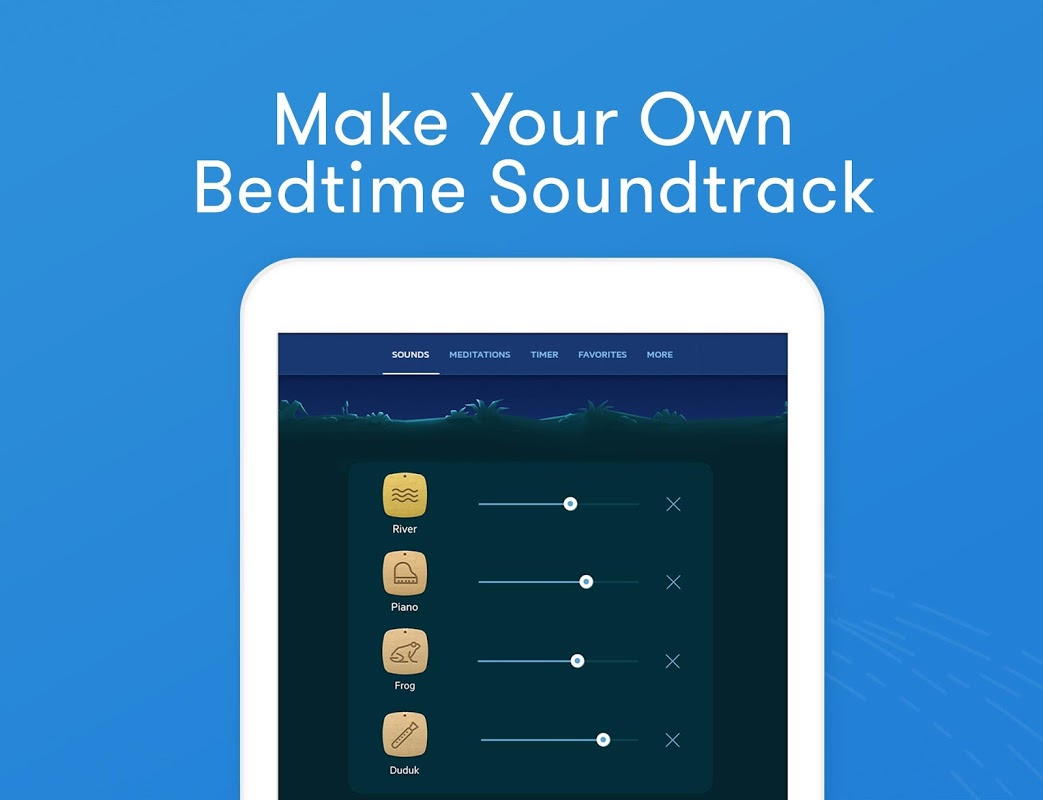 Screenshot Relax Melodies: Sleep Sounds APK