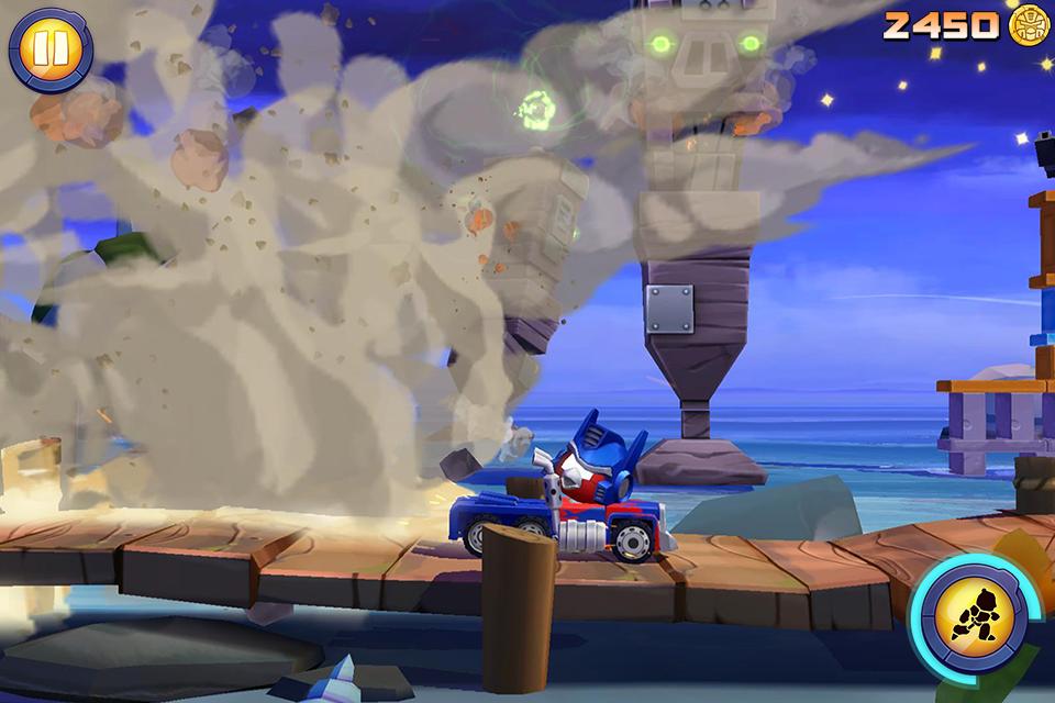 Screenshot Angry Birds Transformers APK
