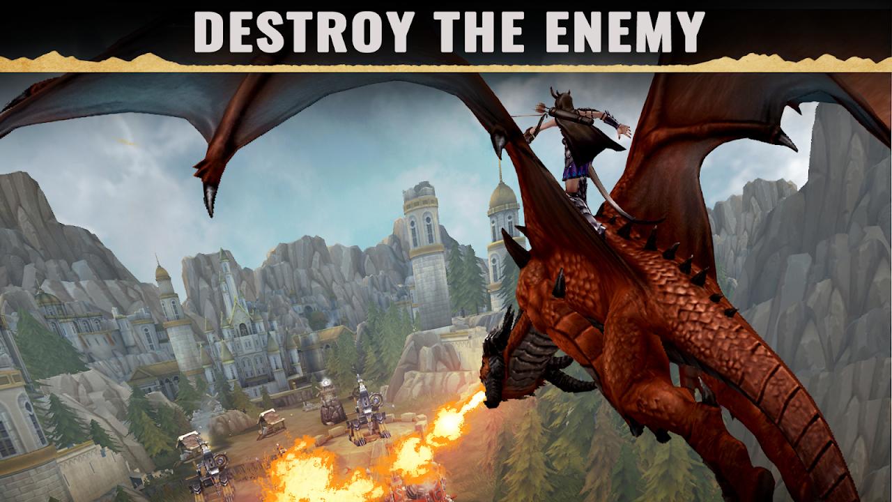 Screenshot War Dragons APK