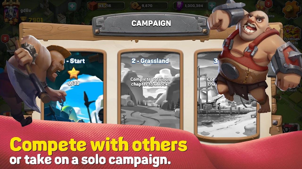 Screenshot Caravan War: Heroes and Tower Defense APK