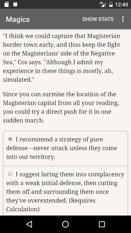 Screenshot Choice of Magics APK