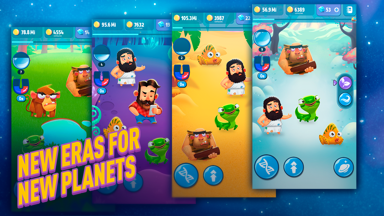 Screenshot Human Evolution Clicker Game: Rise of Mankind APK