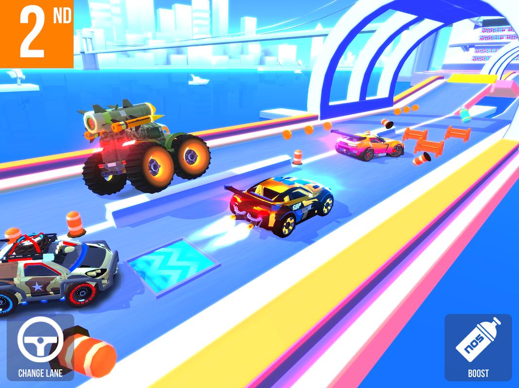 Screenshot SUP Multiplayer Racing APK
