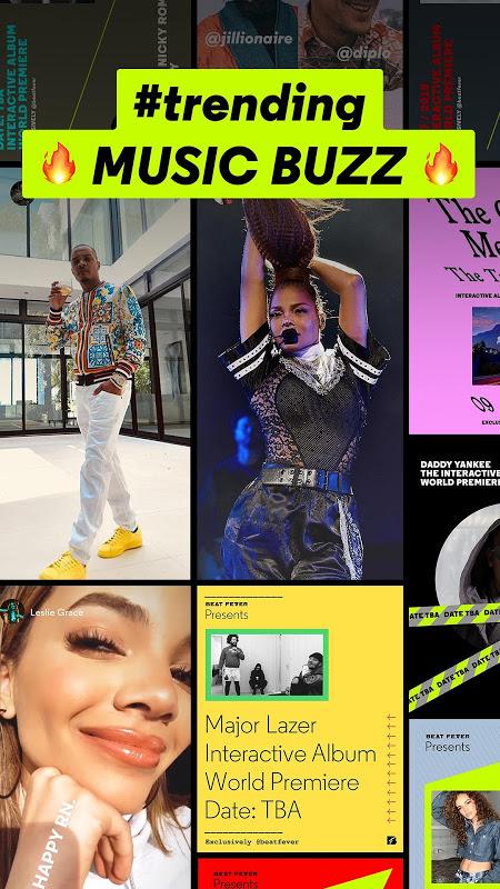 Screenshot BEAT FEVER - Music Planet APK