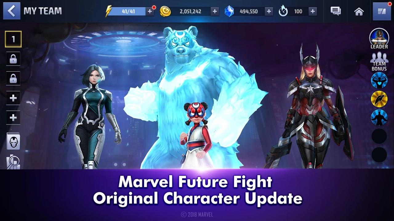 Screenshot MARVEL Future Fight APK