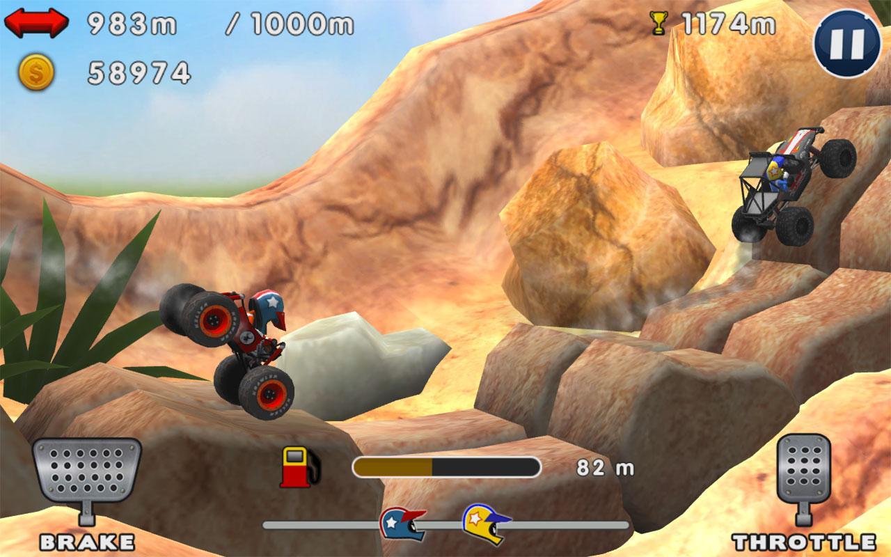 Screenshot Mini Racing Adventures APK