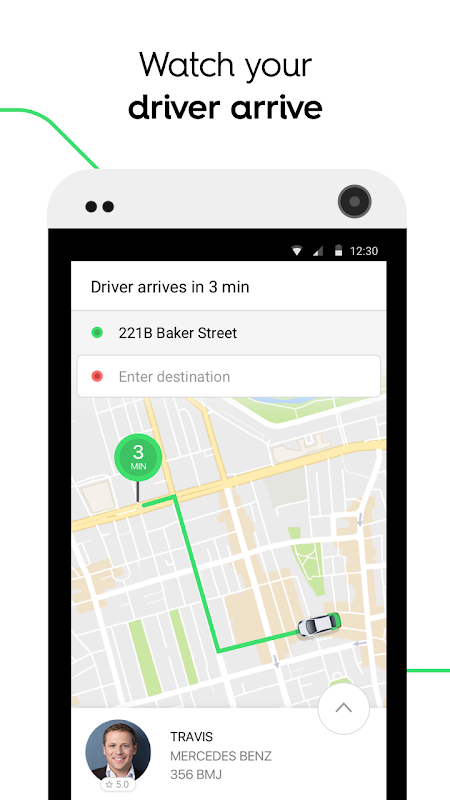 Screenshot Taxify APK