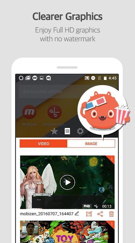 Screenshot Mobizen: Screen Recorder APK