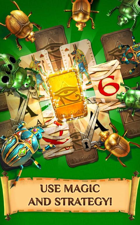 Screenshot Pyramid Solitaire Saga APK