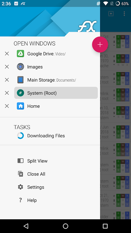 Screenshot FX File Explorer: The file manager with privacy APK
