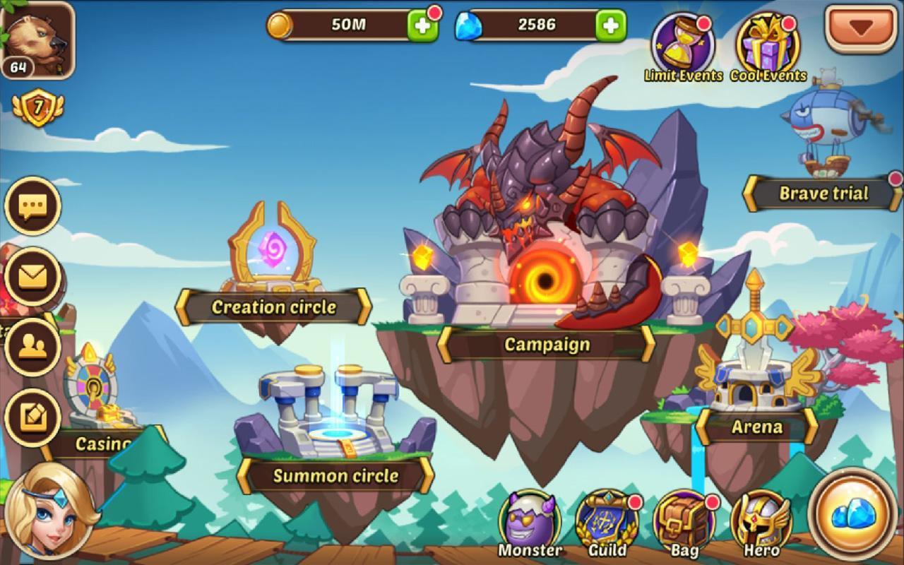 Screenshot Idle Heroes APK