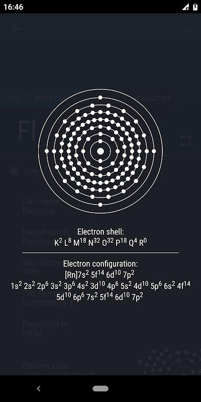 Screenshot Periodic Table 2019 - Chemistry APK