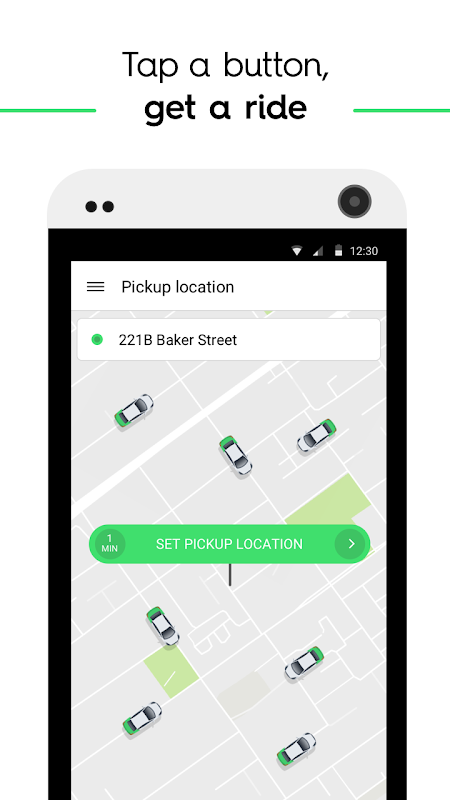 Screenshot Taxify APK