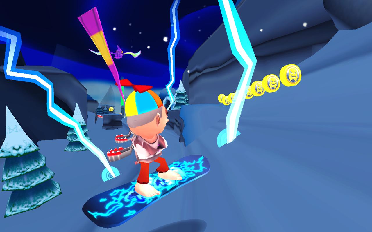 Screenshot Skiing Fred APK