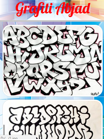 Screenshot Grafiti Alfabet APK