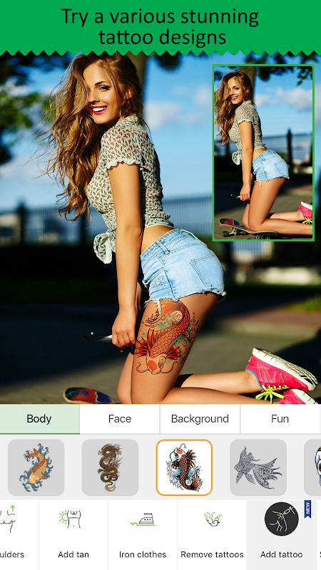 Screenshot Retouch Me - Body & Face Editor for Perfect Selfie APK