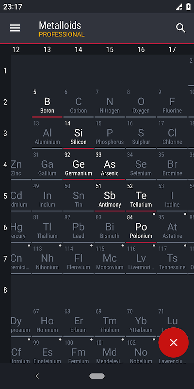 Screenshot Periodic Table 2019 PRO - Chemistry APK