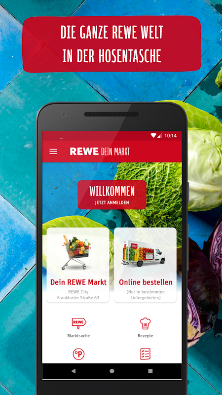 REWE Angebote & Lieferservice The App Store