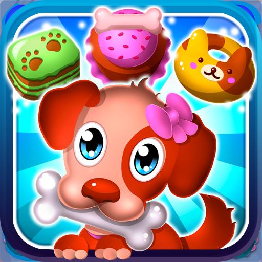Hungry Pet Mania - Match 3 Gems Game