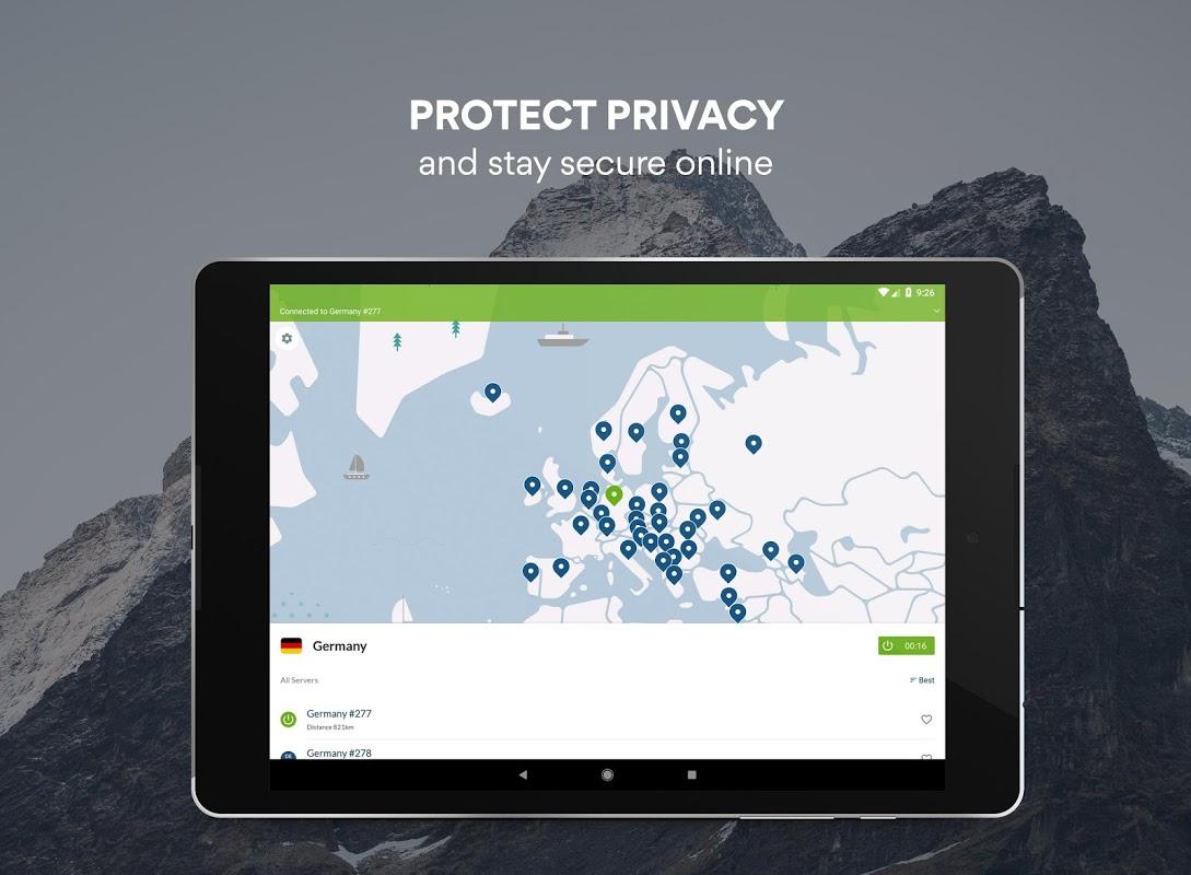 Screenshot VPN: Fast, Secure & Unlimited NordVPN APK