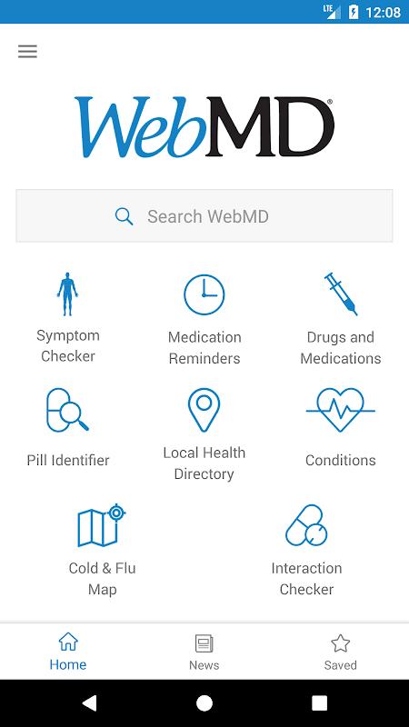 Screenshot WebMD APK