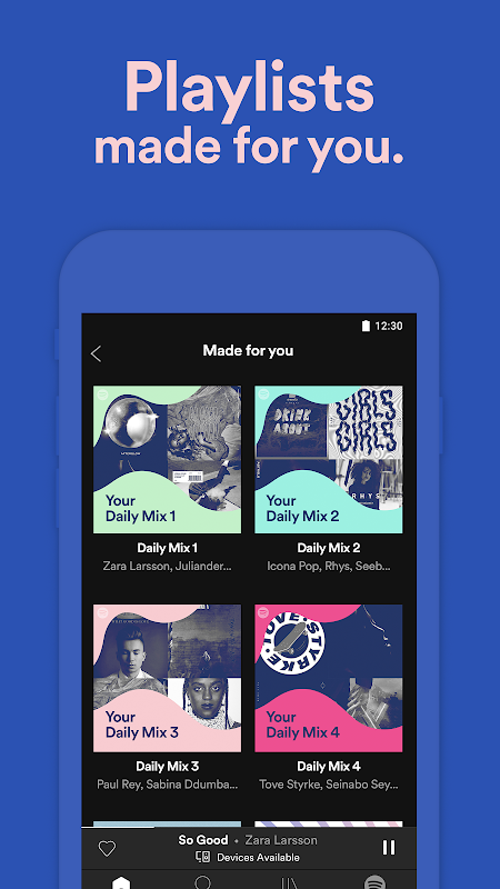 Screenshot Spotify Music APK
