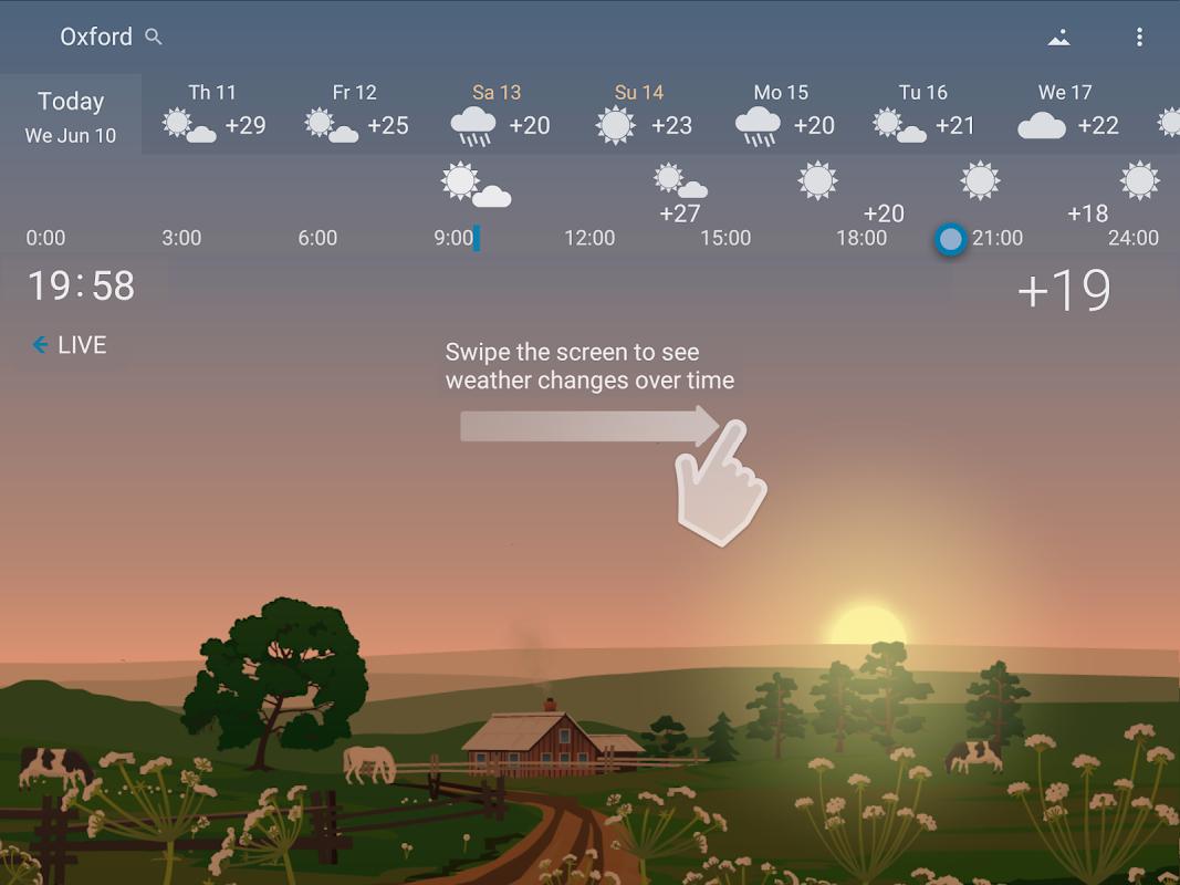 Screenshot YoWindow Weather APK