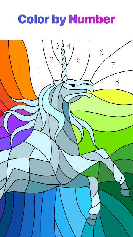 Screenshot Happy Colour – Colour by Numbers APK