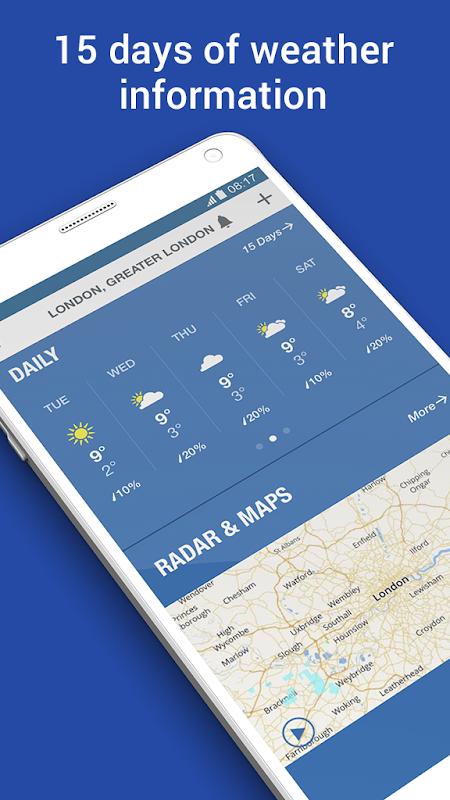 Screenshot Weather: Forecast & Radar Maps APK