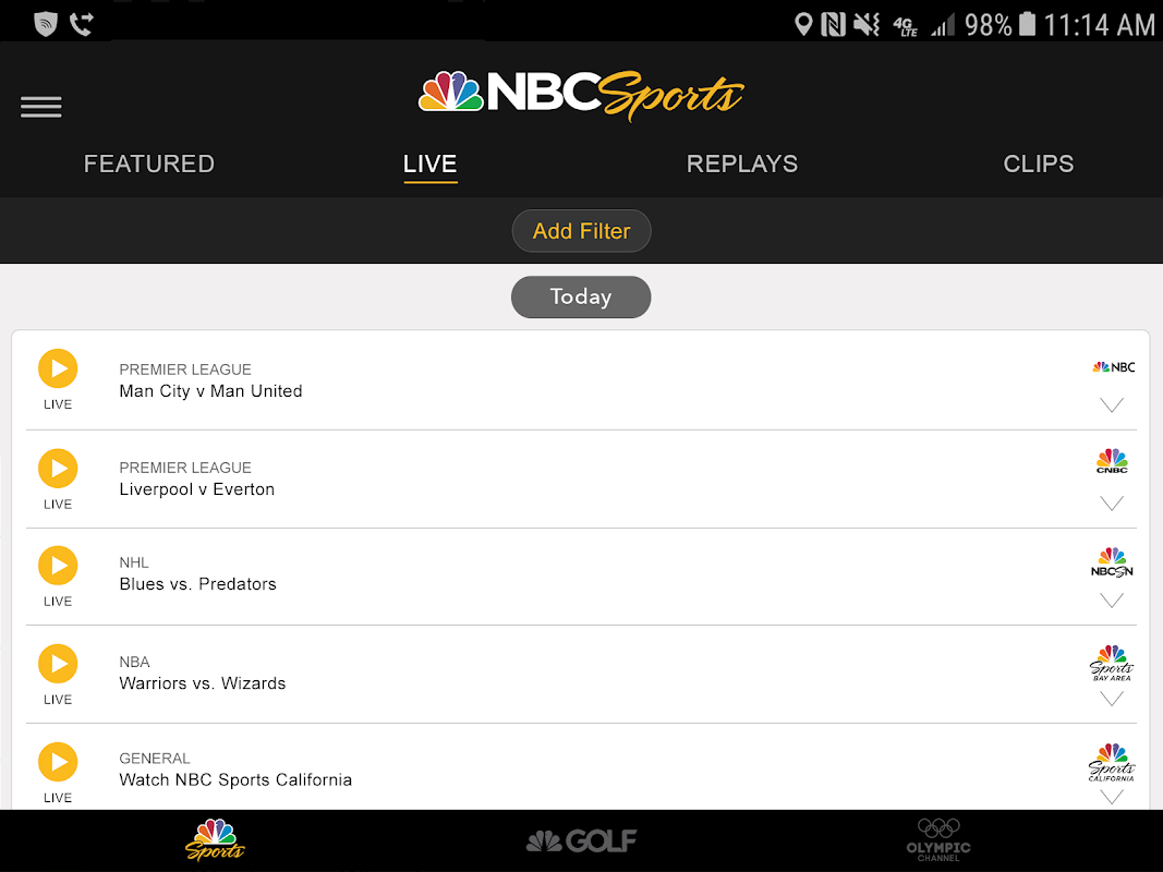 NBC Sports The App Store android Code Lads