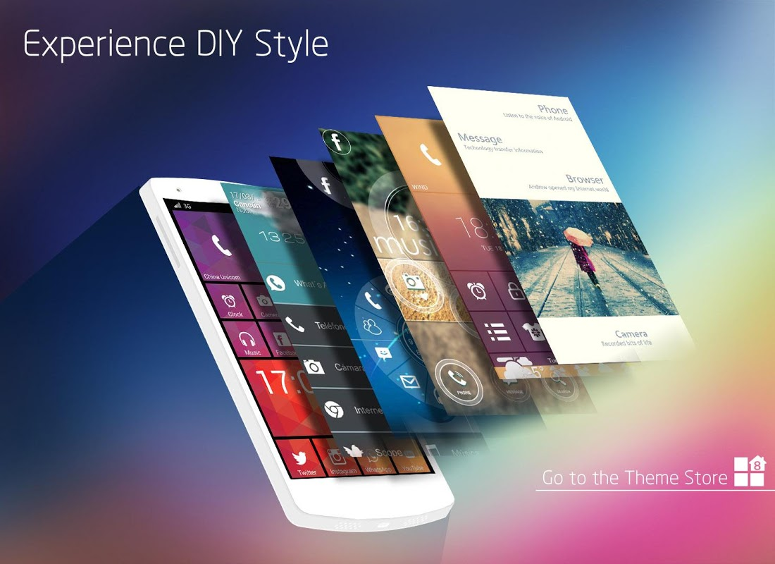 WP Launcher (Windows Phone Style) The App Store android Code Lads