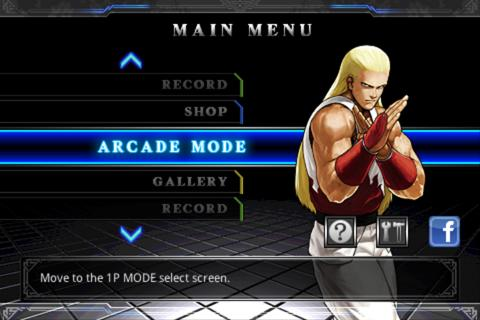 Screenshot THE KING OF FIGHTERS Android APK