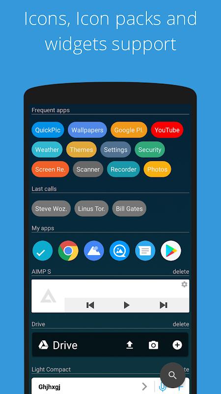 Screenshot AIO Launcher APK