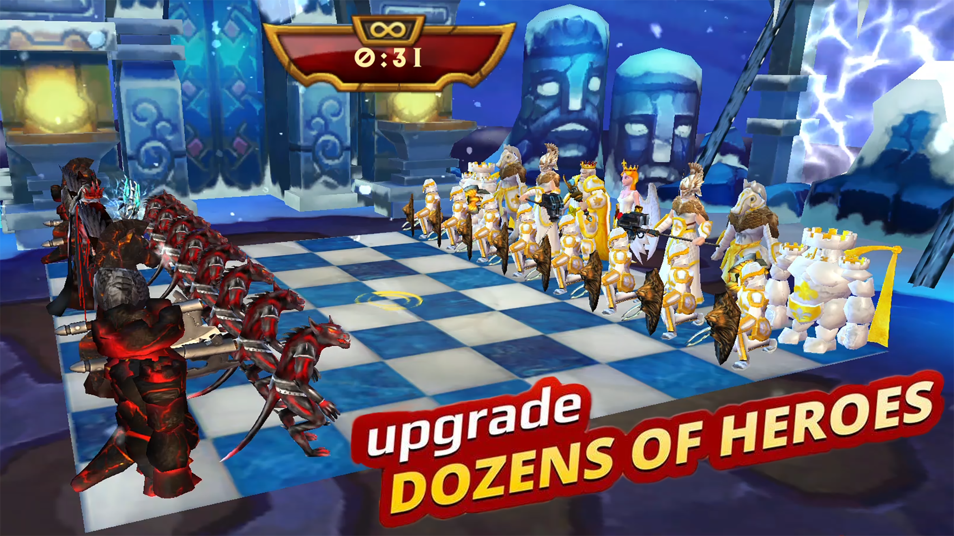Screenshot Warfare Chess APK