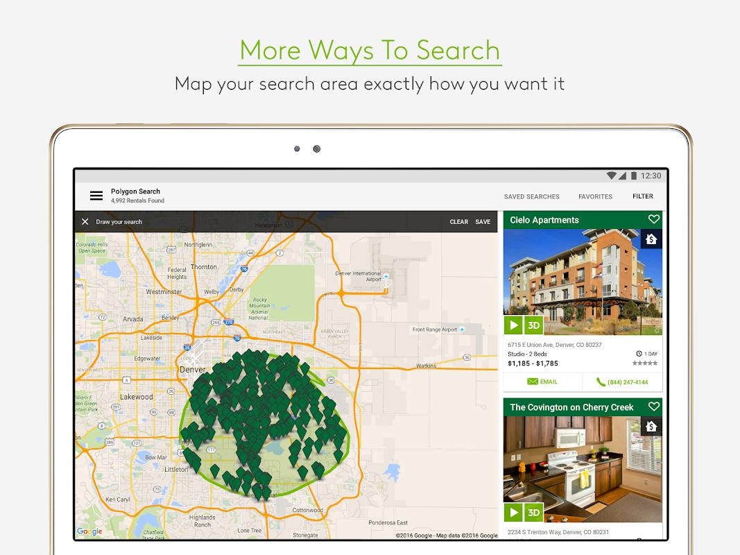 Screenshot Apartments.com Rental Search APK