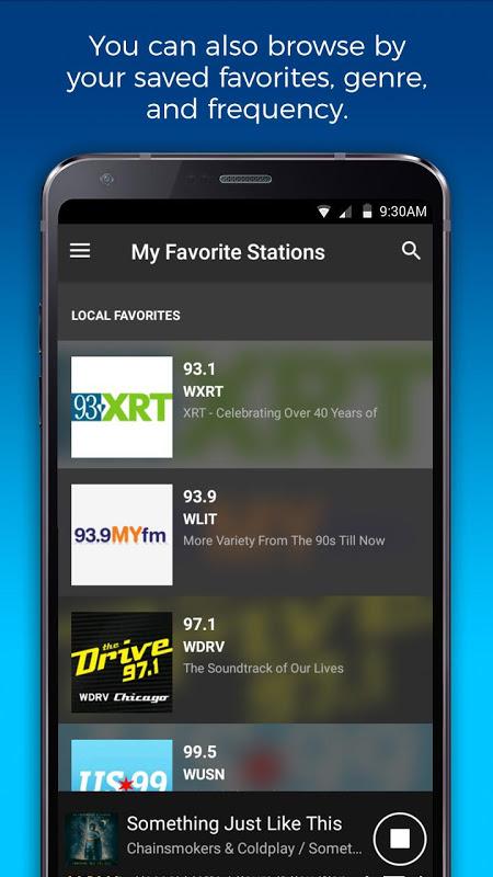 NextRadio Free Live FM Radio The App Store android Code Lads