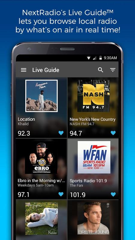 NextRadio Free Live FM Radio The App Store