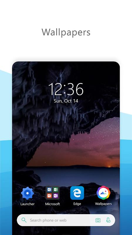 Microsoft Launcher The App Store