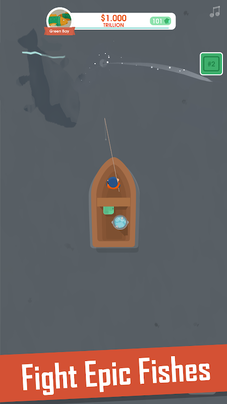 Screenshot Hooked Inc: Fisher Tycoon APK