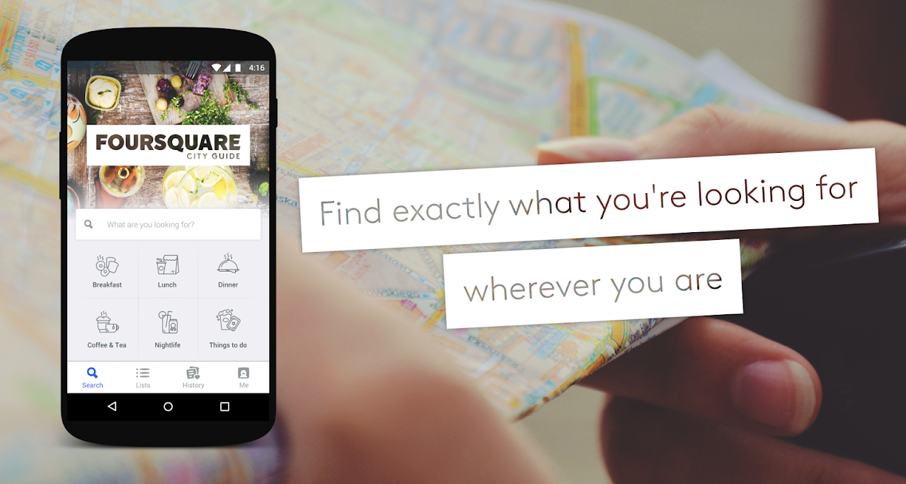 Foursquare City Guide The App Store