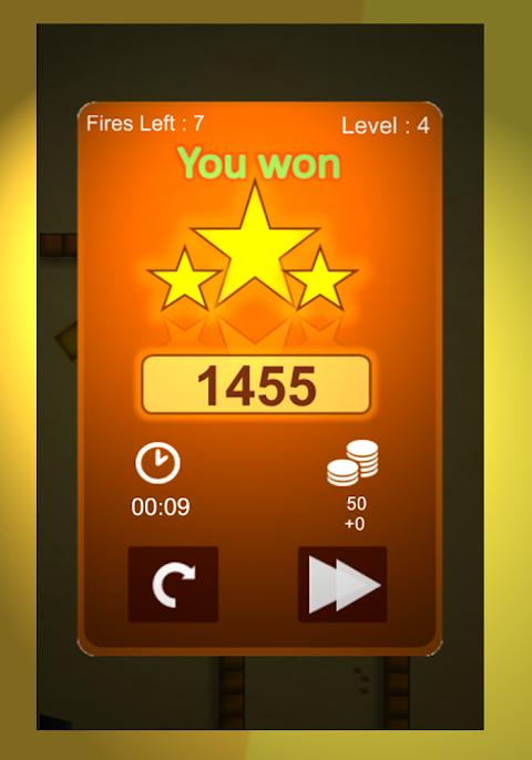 Screenshot Bounce'n Bang Physics Puzzle Challenge: Fireball ! APK