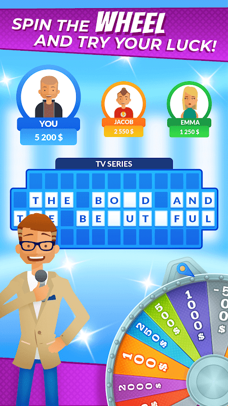 Screenshot Spin of Fortune - best mobile quiz! APK